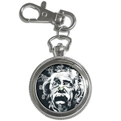 Albert Einstein Street Art Key Chain Watches