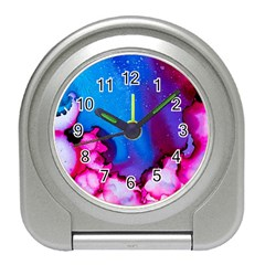 Abstract Detail Art Texture Travel Alarm Clock
