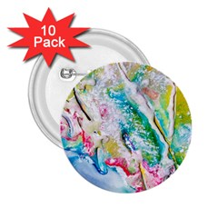 Art Abstract Abstract Art 2 25  Buttons (10 Pack)