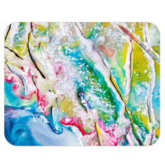 Art Abstract Abstract Art Double Sided Flano Blanket (medium)