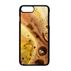 Abstract Art Modern Detail Macro Apple Iphone 8 Plus Seamless Case (black)