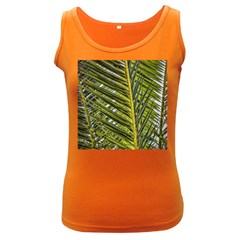 Palm Fronds Palm Palm Leaf Plant Women s Dark Tank Top by Wegoenart