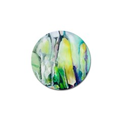 Art Abstract Modern Abstract Golf Ball Marker (4 Pack) by Wegoenart