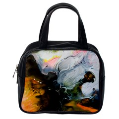 Art Abstract Painting Abstract Classic Handbag (one Side)