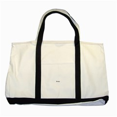 Gum Drops In The Snow Two Tone Tote Bag