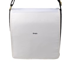 Cute Polar Bear  Flap Closure Messenger Bag (l)
