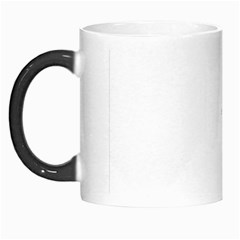 Black And White Organic Abstract Print Morph Mugs by dflcprintsclothing