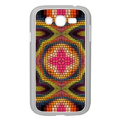 Kaleidoscope Art Pattern Ornament Samsung Galaxy Grand Duos I9082 Case (white)