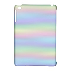 Holographic Foil Pastels Wallpaper Apple Ipad Mini Hardshell Case (compatible With Smart Cover)