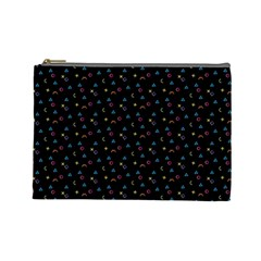 Background Abstract Texture Cosmetic Bag (large)