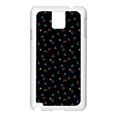 Background Abstract Texture Samsung Galaxy Note 3 N9005 Case (white)