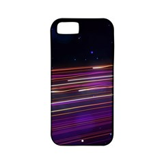 Abstract Cosmos Space Particle Apple Iphone 5 Classic Hardshell Case (pc+silicone)