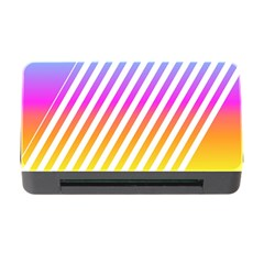 Abstract Lines Mockup Oblique Memory Card Reader With Cf