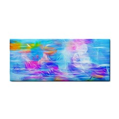 Background Drips Fluid Colorful Hand Towel