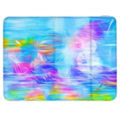 Background Drips Fluid Colorful Samsung Galaxy Tab 7  P1000 Flip Case