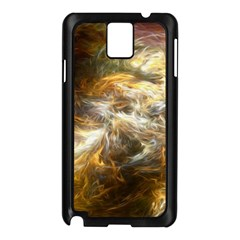 Fractal Background Color Colorful Samsung Galaxy Note 3 N9005 Case (black)