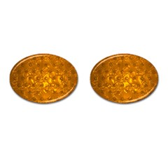 Bubbles Circles Template Texture Cufflinks (oval)