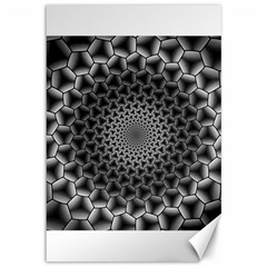Pattern Abstract Graphic District Canvas 12  X 18