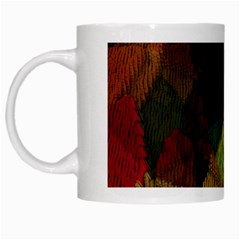 Background Color Template Abstract White Mugs