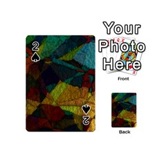 Background Color Template Abstract Playing Cards 54 (mini)