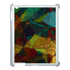 Background Color Template Abstract Apple Ipad 3/4 Case (white)