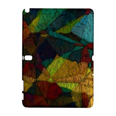 Background Color Template Abstract Samsung Galaxy Note 10 1 (p600) Hardshell Case