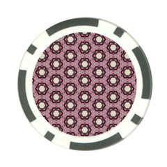 Background Pattern Structure Poker Chip Card Guard (10 Pack)