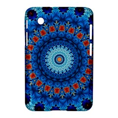 Rose Kaleidoscope Art Pattern Samsung Galaxy Tab 2 (7 ) P3100 Hardshell Case