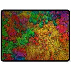 Background Color Template Abstrac Double Sided Fleece Blanket (large)