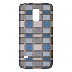 Abstract Seamless Fabric Blue Samsung Galaxy S5 Mini Hardshell Case