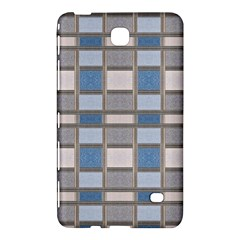 Abstract Seamless Fabric Blue Samsung Galaxy Tab 4 (7 ) Hardshell Case