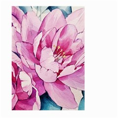 Art Painting Flowers Peonies Pink Large Garden Flag (two Sides)