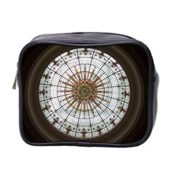 Dome Glass Architecture Glass Dome Mini Toiletries Bag (two Sides)
