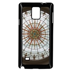 Dome Glass Architecture Glass Dome Samsung Galaxy Note 4 Case (black)