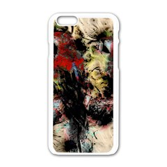 Ara Bird Parrot Animal Art Apple Iphone 6/6s White Enamel Case
