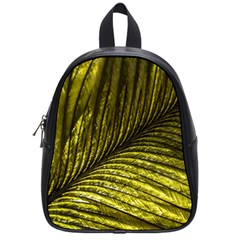 Feather Macro Bird Plumage Nature School Bag (small)