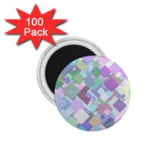 Colorful Background Multicolored 1 75  Magnets (100 Pack)