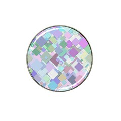 Colorful Background Multicolored Hat Clip Ball Marker