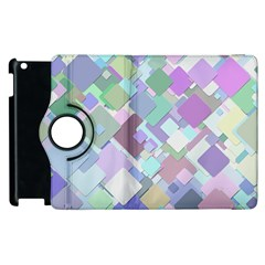Colorful Background Multicolored Apple Ipad 2 Flip 360 Case