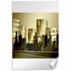 Architecture City House Canvas 20  X 30