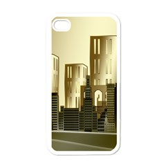Architecture City House Apple Iphone 4 Case (white)