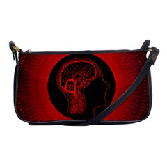 Artificial Intelligence Brain Think Shoulder Clutch Bag