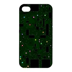 Board Conductors Circuits Apple Iphone 4/4s Premium Hardshell Case