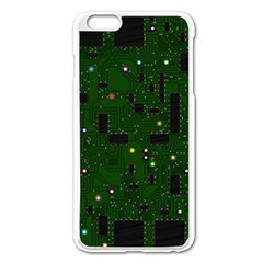 Board Conductors Circuits Apple Iphone 6 Plus/6s Plus Enamel White Case