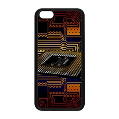 Processor Cpu Board Circuits Apple Iphone 5c Seamless Case (black)