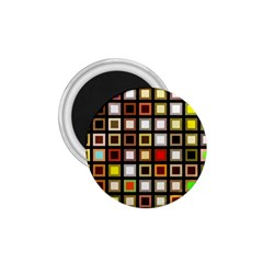 Squares Colorful Texture Modern Art 1 75  Magnets