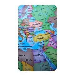 Globe World Map Maps Europe Memory Card Reader (rectangular)