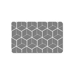 Cube Pattern Cube Seamless Repeat Magnet (name Card)