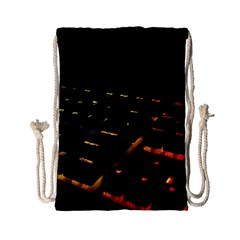 Keyboard Led Technology Drawstring Bag (small)