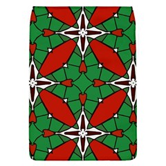 Christmas Seamless Pattern Xmas Removable Flap Cover (l)